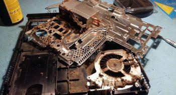 PS4 à nettoyer